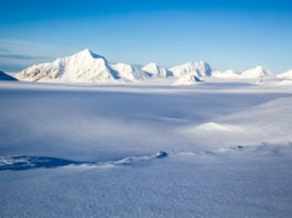 Svalbard glaciers lost their protective buffer in the mid-1980s and have been melting ever since