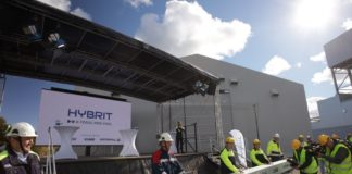 The world's first fossil-free steelmaking starts in northern Sweden
