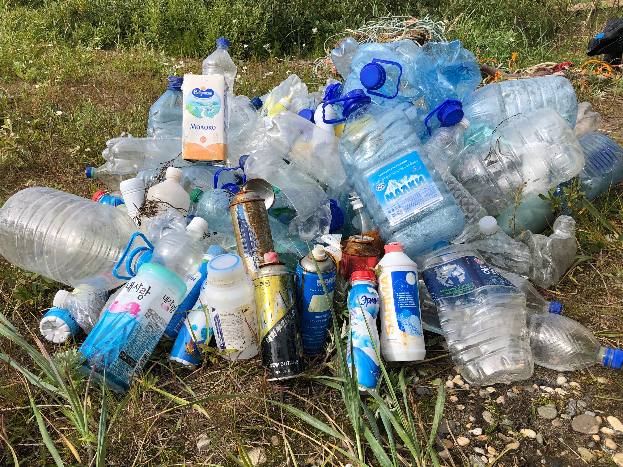 Mysterious waves of marine trash, much of it Russian, wash ashore on Alaska's Bering Strait beaches - ArcticToday