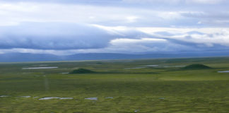 Warming threatens some iconic permafrost landscape features