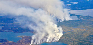 'Zombie fires' helped make this worst wildfire season ever recorded in the Arctic