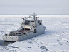 Norwegian Coast Guard sails high-latitude Arctic voyage to Beaufort Sea