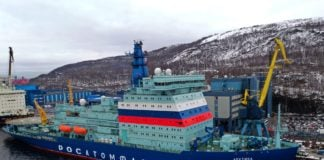Russia's new nuclear icebreaker abruptly ends its first working Arctic voyage