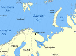 17 are feared dead as a Russian trawler sinks in Barents Sea