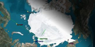 China plans to launch a satellite to monitor Arctic shipping routes