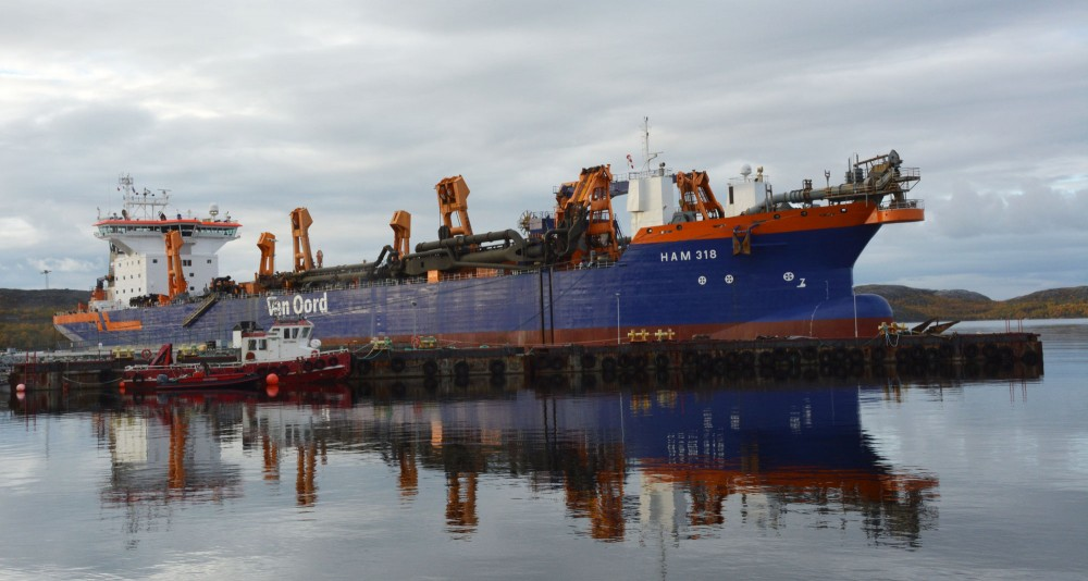 Massive dredging opens a shallow Russian Arctic gulf for bigger ships - ArcticToday