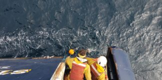 With visiting scientists sidelined by coronavirus pandemic, Bering Sea residents take on more research duties