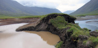 Thawing permafrost is full of ice-forming particles that could get into atmosphere