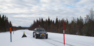 How two stretches of road in Arctic Norway and Finland are paving the way for safer driving