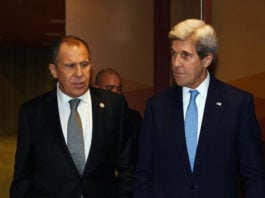 Russia's Lavrov holds climate talks with U.S. envoy Kerry amid sanctions concerns