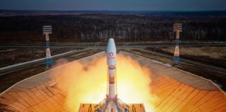OneWeb launches 36 satellites from Russia to expand internet access