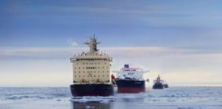 A new study calculates the likelihood of ships of becoming stuck in Arctic sea ice