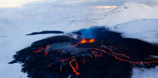 A third lava stream has opened at Iceland's new volcano