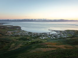 Excitement builds in an Icelandic fishing town vying for Oscars glory