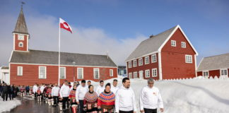 Greenland's parliament opens its spring session with new leadership