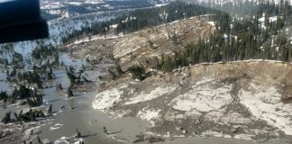 Nunavik landslide was the 2nd largest recorded in Quebec history