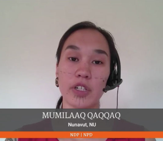 Nunavut MP talks of workplace racism in her farewell speech