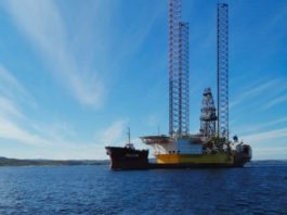 Oil drilling rigs are sailing north for Russia's Arctic waters