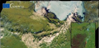 Satellites reveal an unusually far north wildfire in Siberia