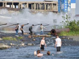 Russia's Norilsk sees a heatwave