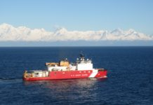 A US icebreaker has begun a voyage that will include a Northwest Passage transit