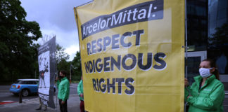 A Luxembourg protest brings opposition to a Nunavut mine expansion to the world stage