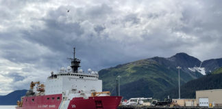 US icebreaker departs on a voyage that will transit the Northwest Passage