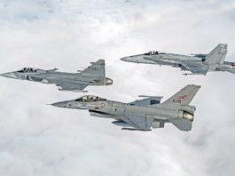 Nordic fighter jet exercises kicks off inside Arctic Circle