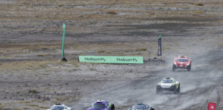 In race to save climate, off-road series stages first auto race in Greenland