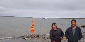 First stretch of cable laid as Nunavik's fiber optic project gets going