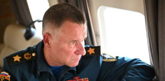 Russian emergencies minister dies trying to save man during Arctic exercise