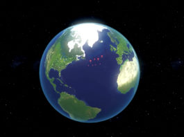 How melting polar ice has warped Earth's crust