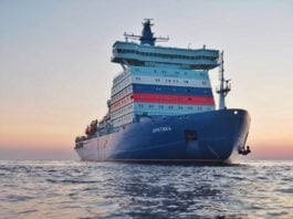 Shipping on Russia's Northern Sea Route is on pace to reach 35 million tons in 2021